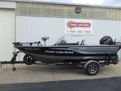 crestliner raptor boats crestliner 1750 raptor boats for sale boats