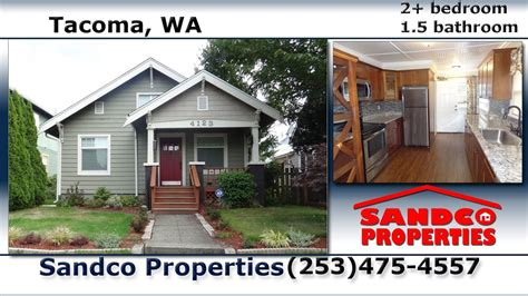 video  updated  bedroom house  rent  tacoma wa sandco properties youtube