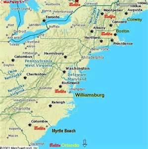 map usa east coast boston eastern seaboard locations roadtrip 2015 maps