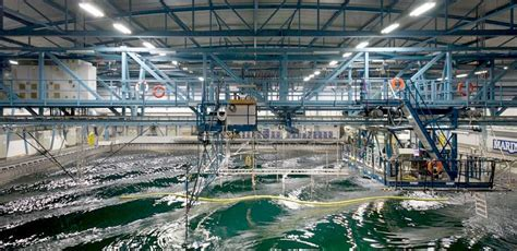 WATER TANK HYDRODYNAMIC WAVE AND WIND TESTING FACILITIES