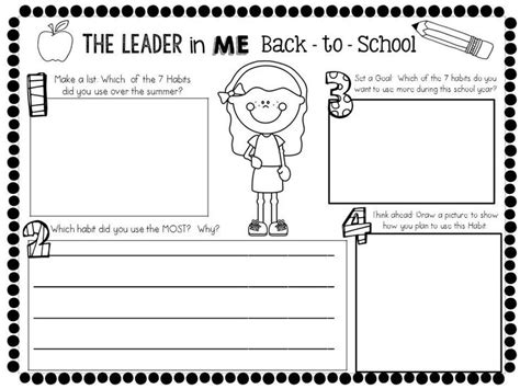 Leader In Me Worksheets by 254 Best Images About Leader In Me On Data