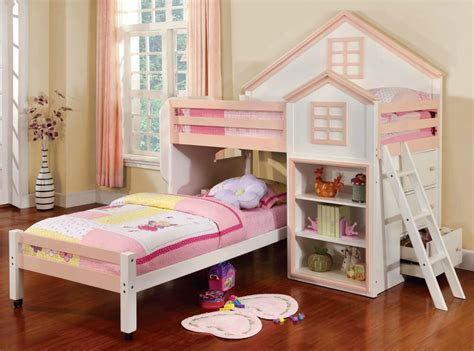 bunk beds for girls 34 fun girls and boys kid s beds bedrooms photos