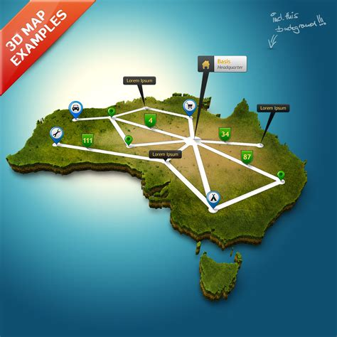 3d maps 3d map generator pro easy routes by orange box graphicriver