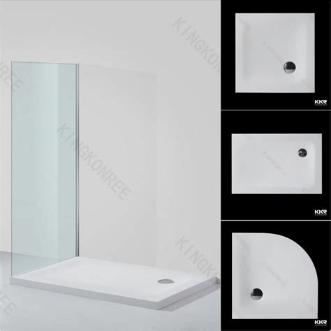 Solid Surface Shower Tray by Custom Made Solid Surface Shower Tray White Marble Shower