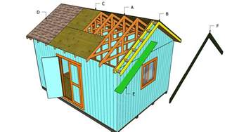 yia gable end shed plans