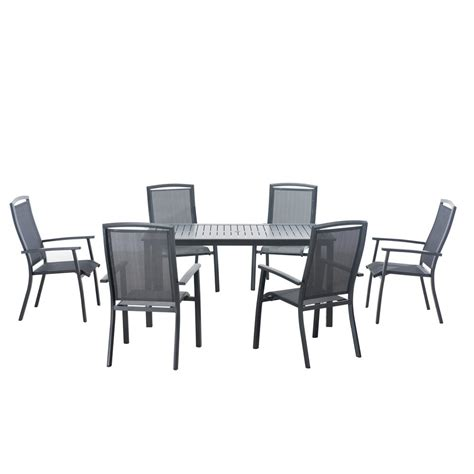 7 patio dining set martha stewart living solana bay 7 patio dining set