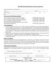 vaccine consent form template doc 600730 vaccine consent form sle vaccine consent