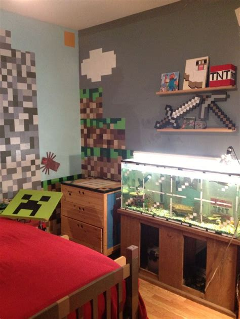 minecraft diy minecraft bedroom