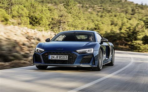 2019 Audi R8 by 2019 Audi R8 Debuts With Sharper Look More Power