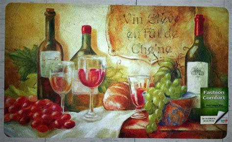 Wine Kitchen Mat by Nwt Wine Vineyard Grape Anti Fatigue Memory Foam Kitchen