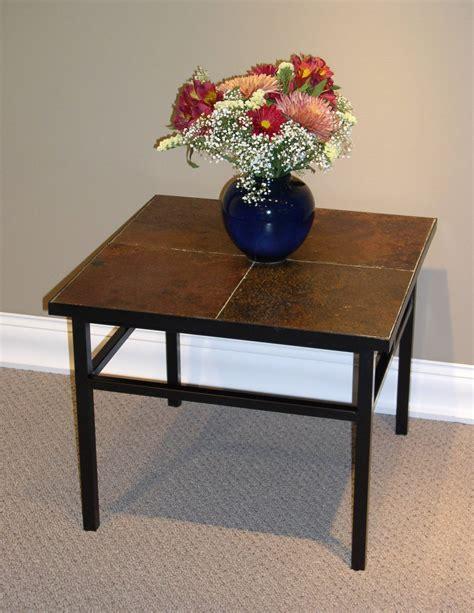 slate top end table slate end tables homesfeed