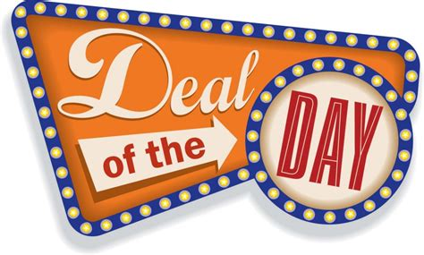 day deals deal of the day