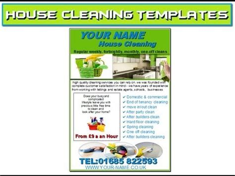 commercial cleaning flyer templates flyers for cleaning business templates yourweek