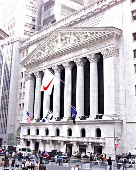 the new image nike flag on new york stock exchange pictures freaking news
