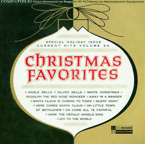 christmas favorites ma542 422 christmas vinyl record
