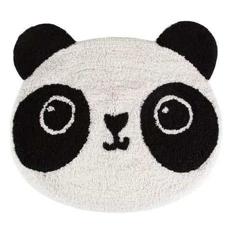 panda rug kawaii 55x63cm panda rug achica