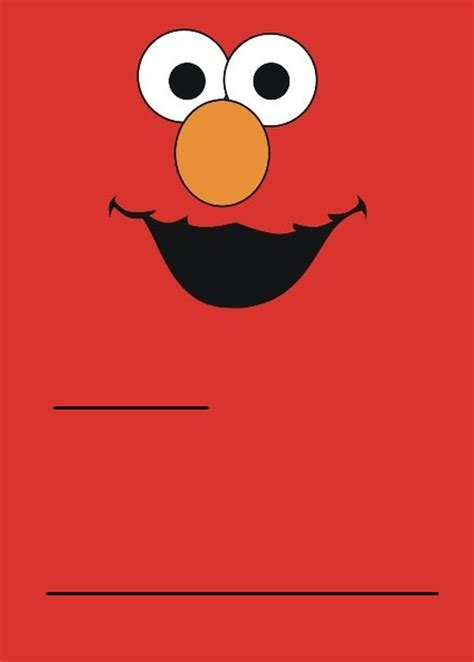 elmo template for invitations elmos invitation template orderecigsjuice info