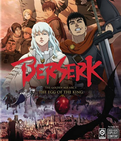 berserk the golden age arc 1 the egg of the king 2012 the golden age arc i the egg of the king the
