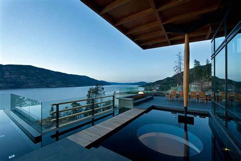 exceptional hillside home overlooking okanagan lake canada