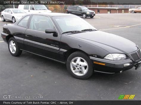 1995 Pontiac Grand Am Se by Black 1995 Pontiac Grand Am Se Black Grey Interior