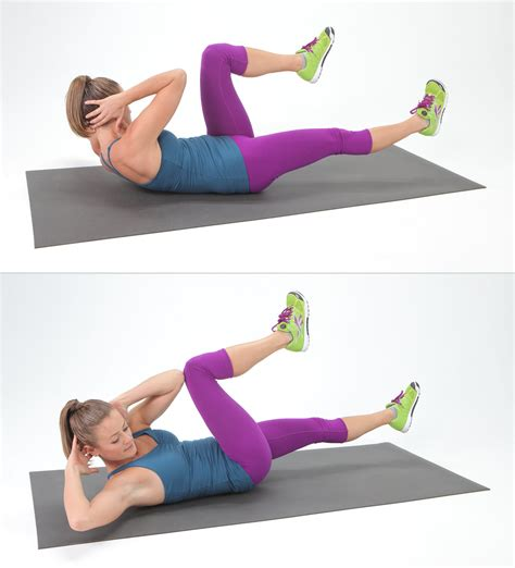 bicycle crunches   complete ab burn   quick