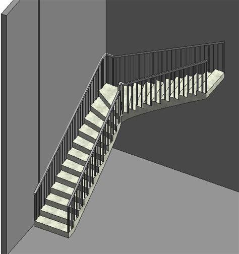 revit handrail tutorial how to create adjust wall mounted railings in revit