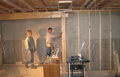 a look at a mostly diy basement renovation