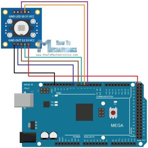 exle arduino esp8266 arduino color sensing tutorial tsc230 tsc3200 color sensor