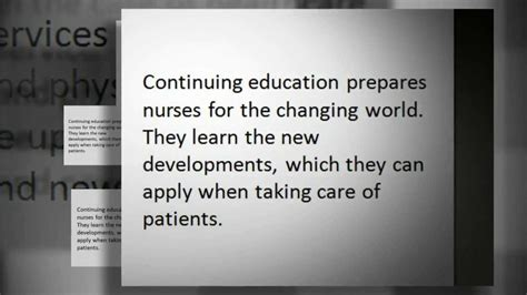 Nursing Continuing Education Detox by How Important Is Continuing Education In Your Nursing
