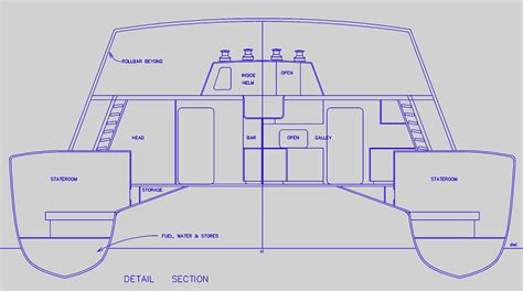 catamaran drawing how to build multihull plans pdf plans