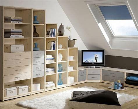 Bedroom Attic Storage Ideas Loft Conversion Different Height Shelving Units Interior