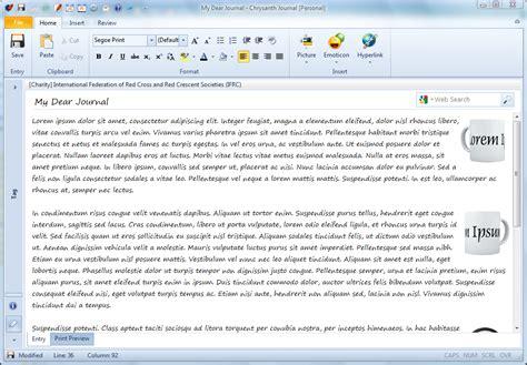 journal layout software journal software features benefits