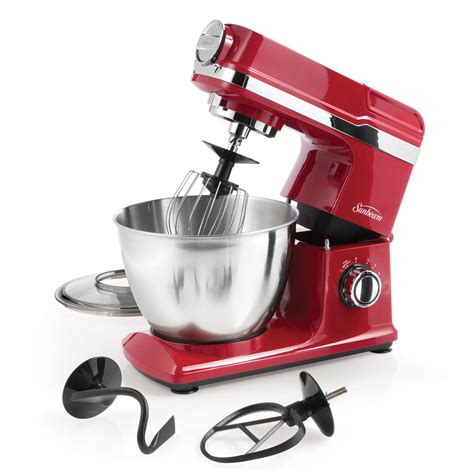 Sunbeam® Mixmaster® Planetary Stand Mixer, Red FPSBSM3481R