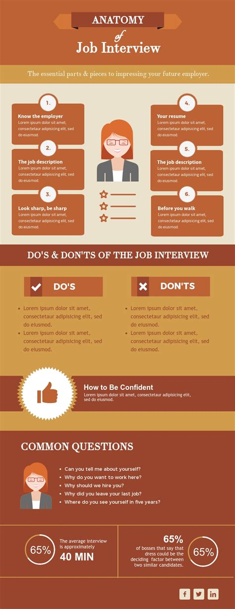 Infographic Templates Career Infographic Template