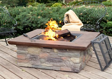 wood burning fire pit table write teens