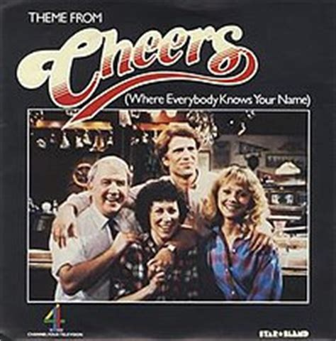 theme song cheers where everybody knows your name wikipedia