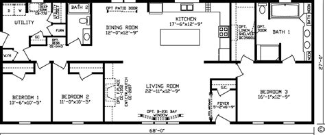 fairmont homes floor plans home 92582k kingsley modular floor plan fairmont homes manufactured and modular