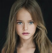 Girl 9 Years Old Beautiful Model Kristina Pimenova