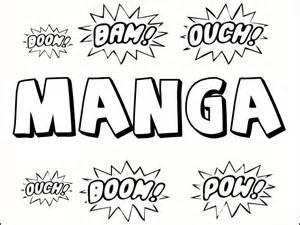 Coloriages MANGA &224 Imprimer Gratuitement  sketch template