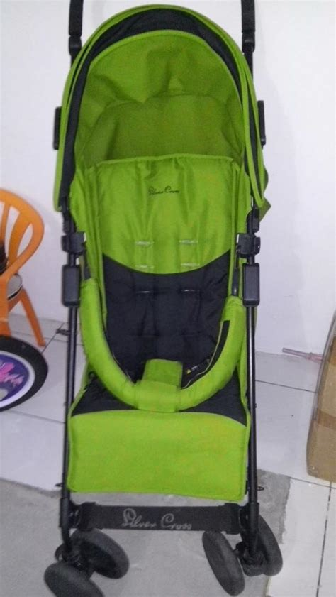 Stroller Second Bagus jual babby box stroller silver cross care second
