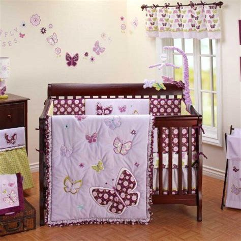 butterfly nursery bedding set 8 best purple butterfly crib bedding images on baby room baby nurserys and