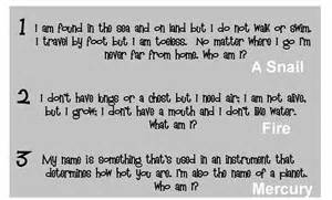 Funny and hard riddles with answers