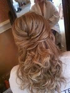 Formal hairstyles for medium hair wedding hair half up style with