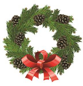 Christmas wreath 1 vector free vector clipart best clipart best