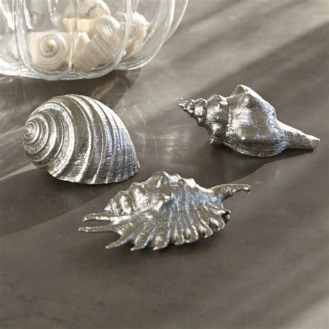Badezimmer Deko Silber by Bezaubernde Dekomuscheln In Silber Die Tollsten Produkte