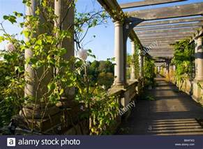 Hill Garden And Pergola Hampstead Heath by Pergola In The Hill Garden Hampstead Heath London Stock