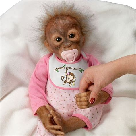 annabelle doll buy india leila s loving touch baby monkey doll by ashton