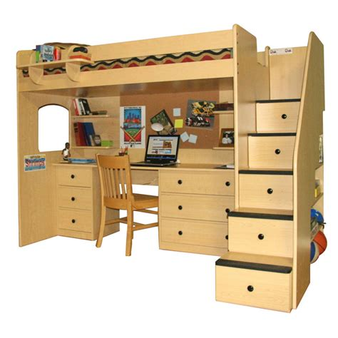 bunk loft with desk loft bed with desk australia get bunky