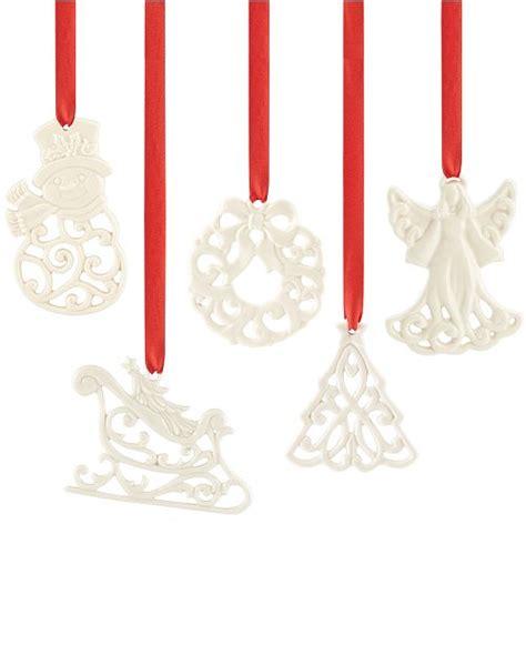 lenox charm ornament collection created  macys reviews  holiday lane home macys