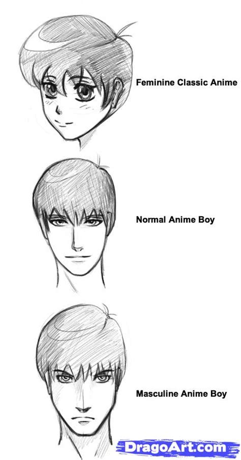 by step how to draw anime boys step 5 how to draw anime boys